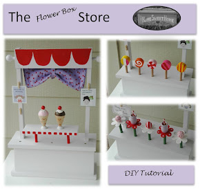 DIY Pretend Store