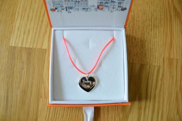 Personalised Neon Charm Bracelet
