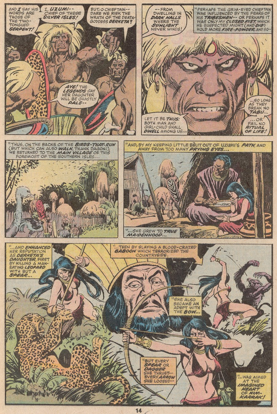 Conan the Barbarian (1970) Issue #59 #71 - English 9