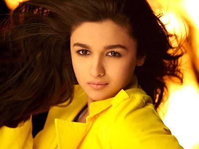 Aliya bhatt in yellow | All New Picture Gallary
