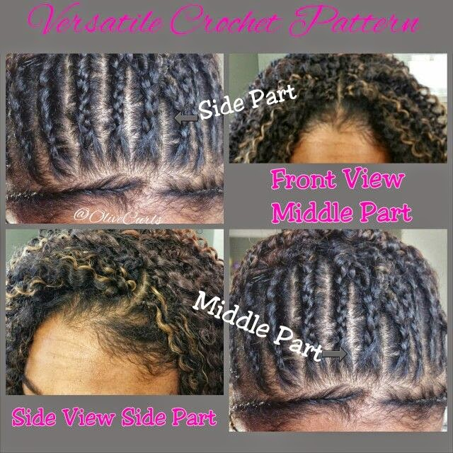 Crochet Braid Pattern For Straight Hair - Braids