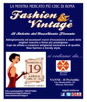 Fashion & Vintage - 19 Aprile