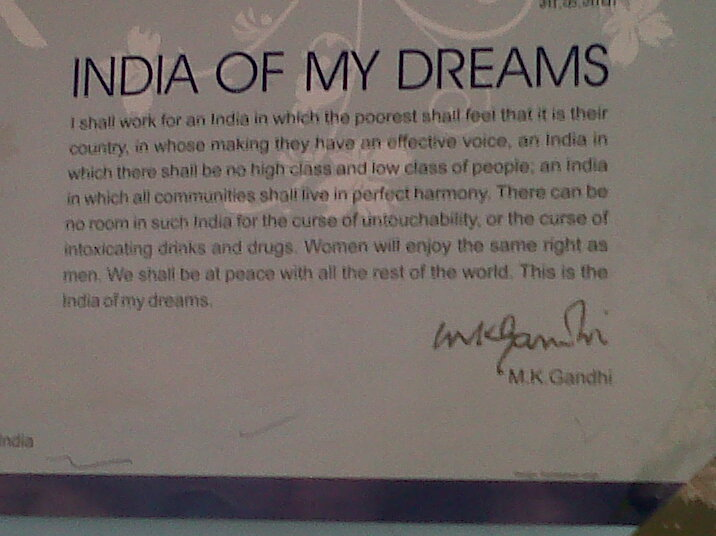 of gandhi s dreams getting to your best of gandhi s dreams
