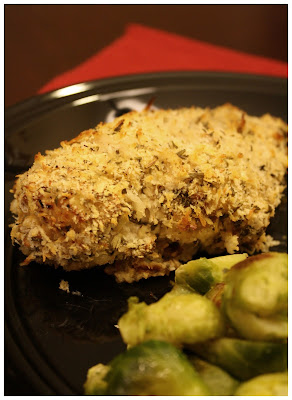 pilaf from a box mustard herb panko crusted chicken breasts