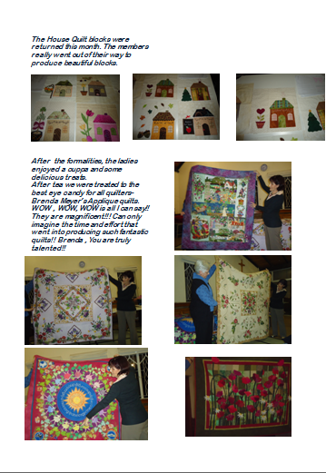 Quilt Guild Newsletter Ideas : Tollgate Quilters Guild: September Newsletter