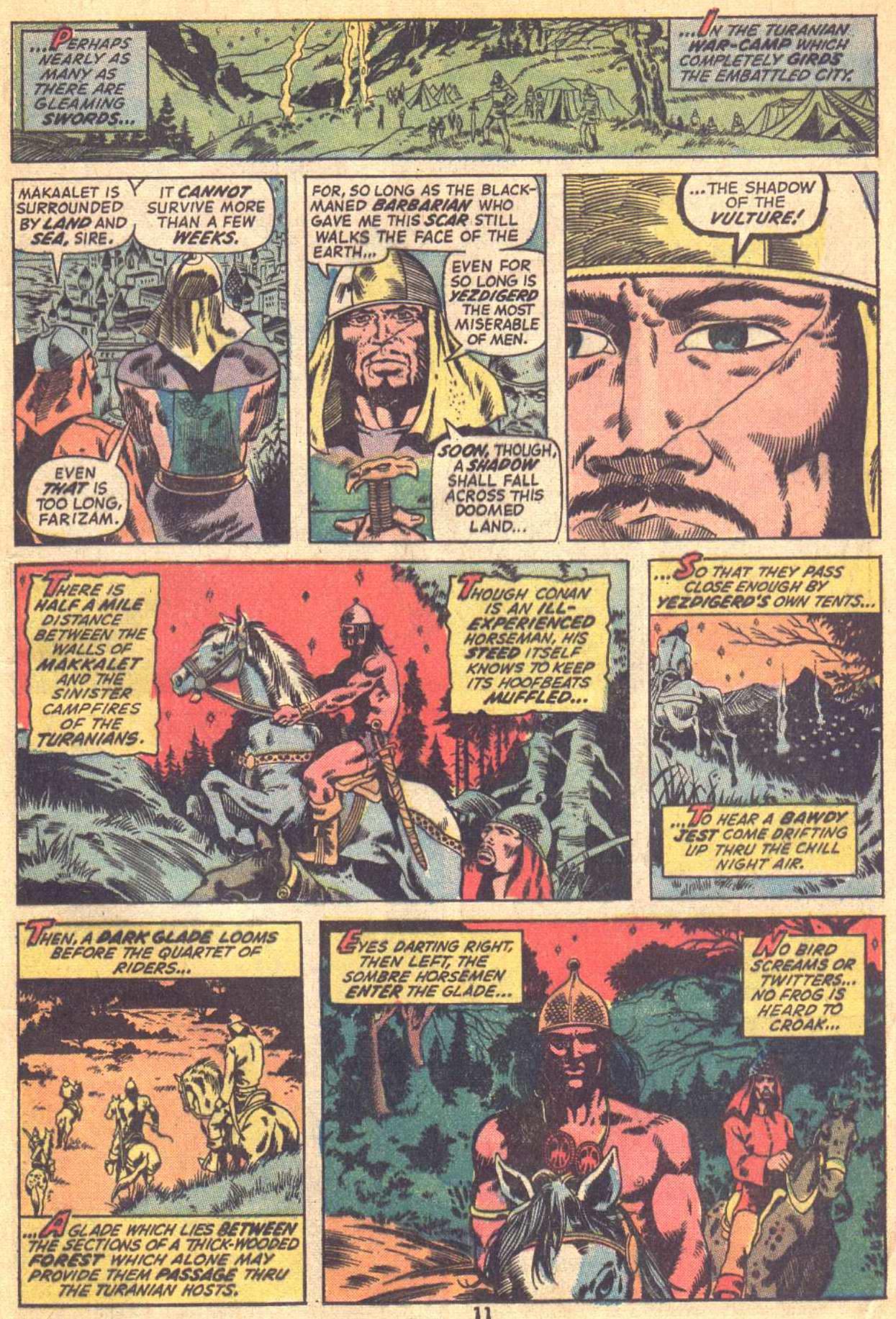 Conan the Barbarian (1970) Issue #21 #33 - English 9
