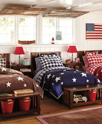americana in home decor