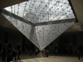 Inverter Pyramid in Louvre