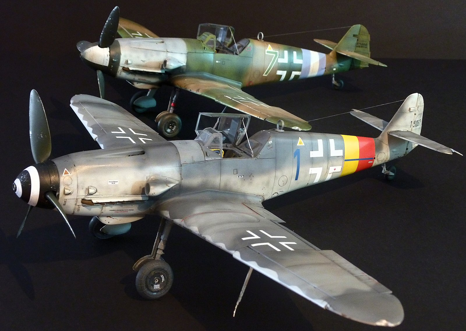 Messerschmitt Bf 109 E-4/7 Decal Preview (Hussar 1/32)