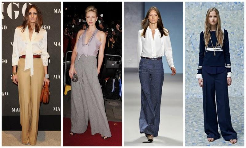 wide leg pants trend
