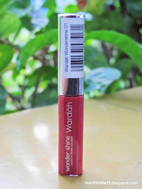 Lipgloss Wardah Wondershine No. 01 Cinnamon Red