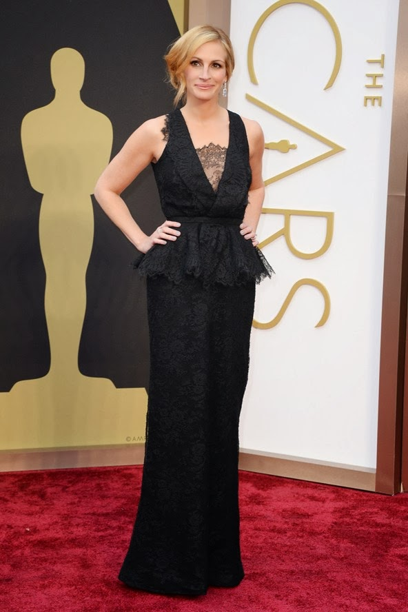 Julia Roberts in Givenchy at the Oscars