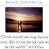 Romantic Quote of the Day Blogger Widgets
