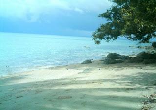 pantai teluk gosong kotabaru kalsel