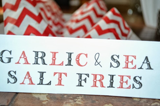 Garlic and sea salt french fries