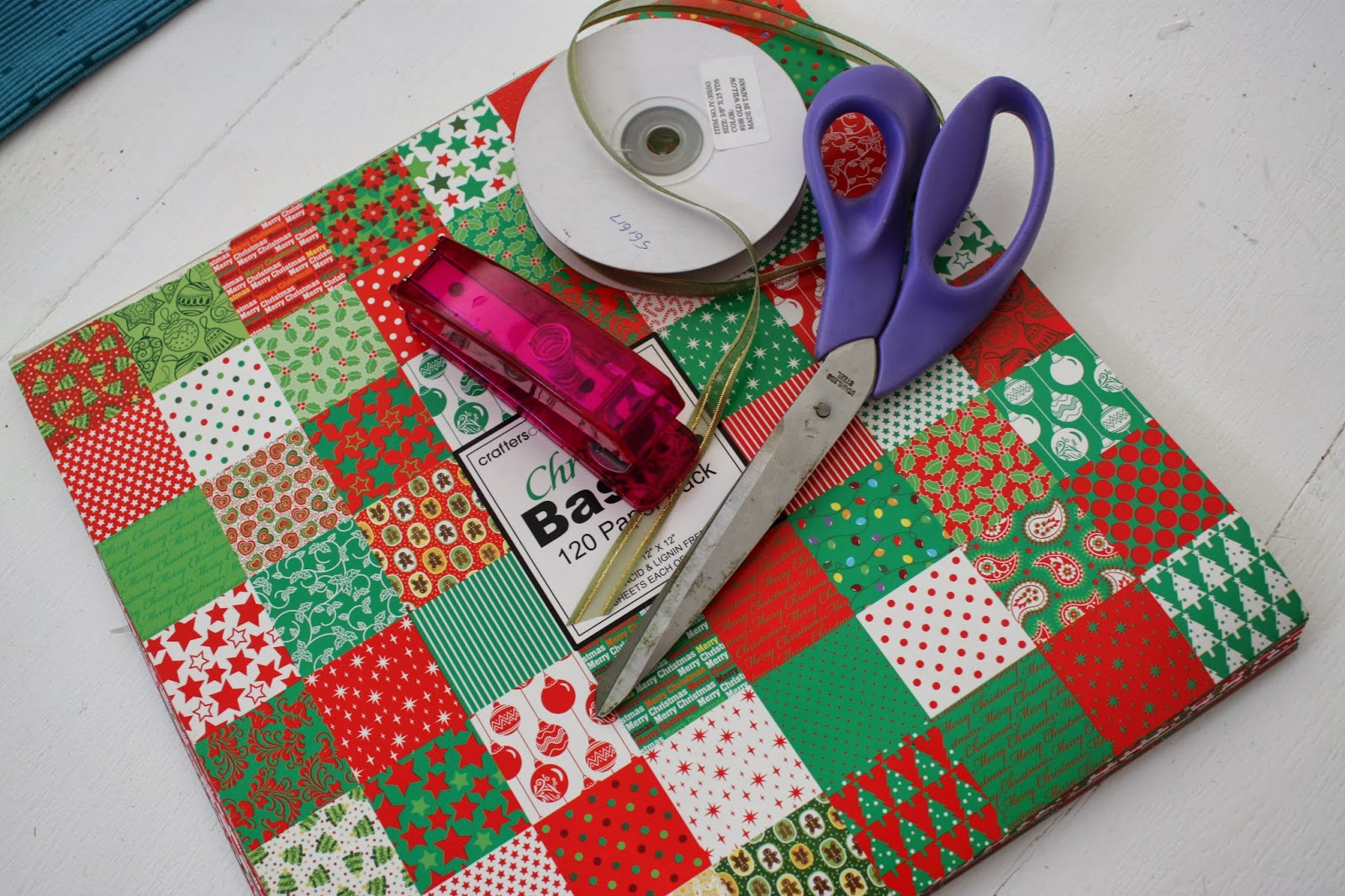 Scrapbook paper big w