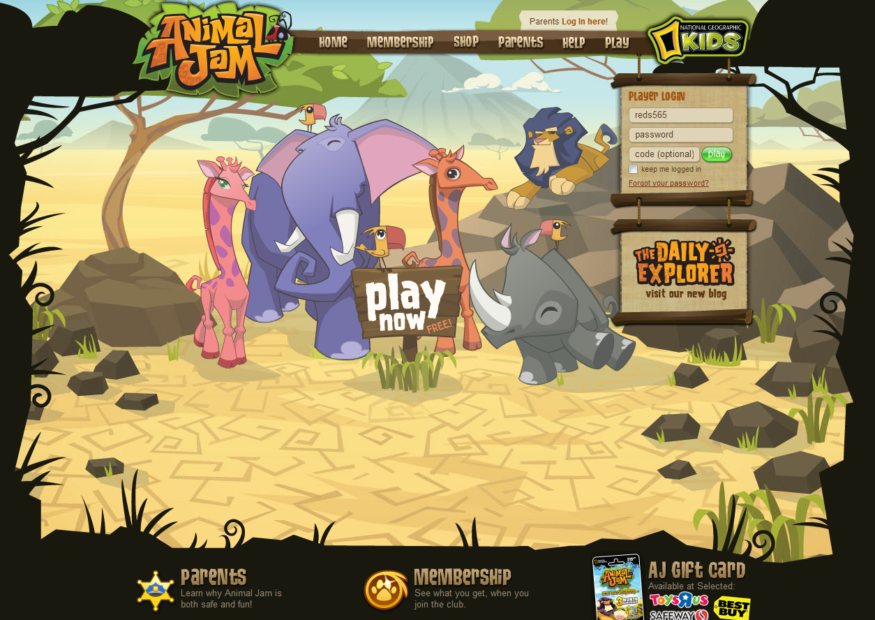 Animal Jam Codes http://animaljamajblog.blogspot.com/2012/06/new-homepage-and-fountain.html