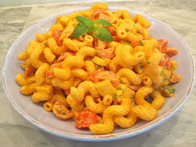 ... Spoon Diaries: Spicy Pasta Salad with Smoked Gouda, Tomatoes & Basil