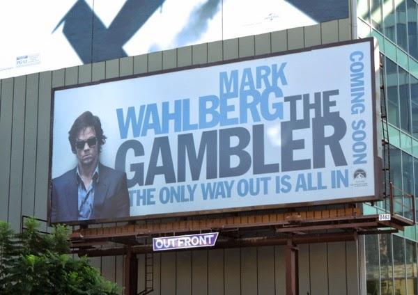 The Gambler movie teaser billboard