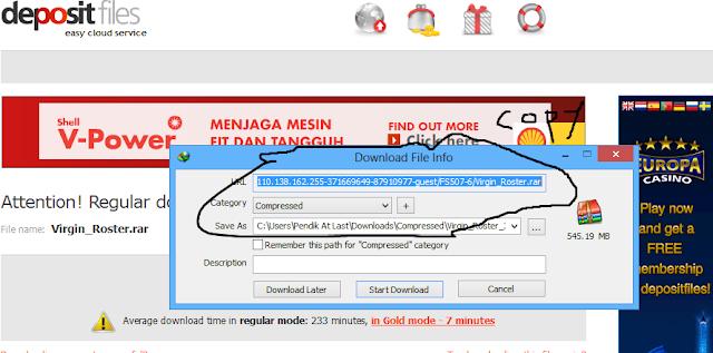 Cara Men Resume Meneruskan Download Pakai Idm