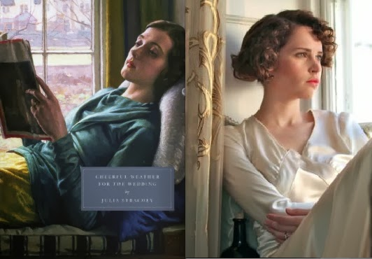 Les adaptations des romans Persephone Books Cheerful-weather-for-the-wedding-book-and-film