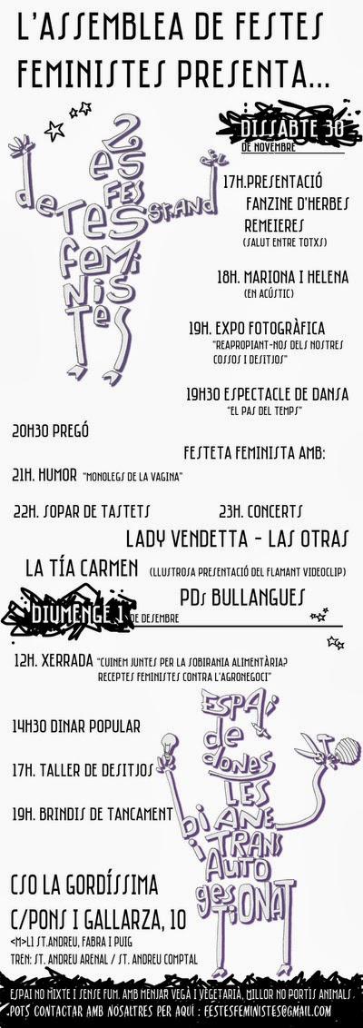 Feste Feministes de St Andreu