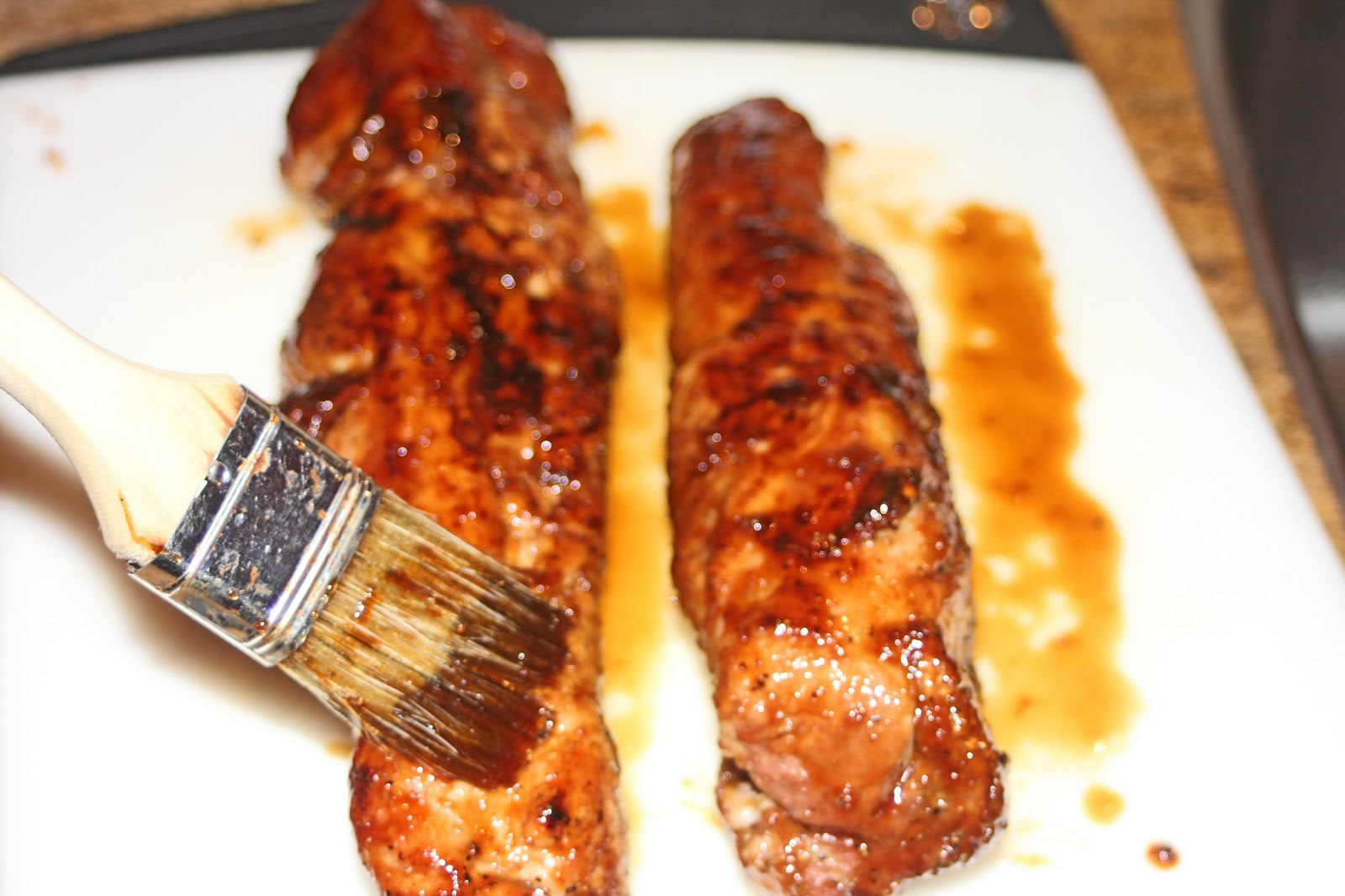 Remove tenderloins and baste with the remaining glaze. Let rest for 10 ...