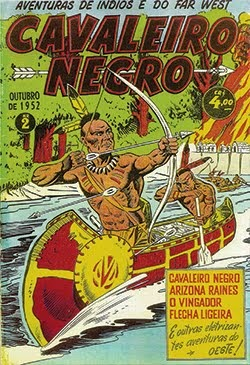 CAVALEIRO NEGRO - AVENTURAS DE INDIOS E DO FAR WEST