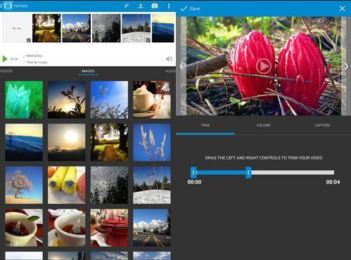 Aplikasi edit video android - wevideo