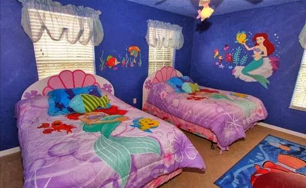 desain dan dekorasi kamar anak perempuan rumah saya