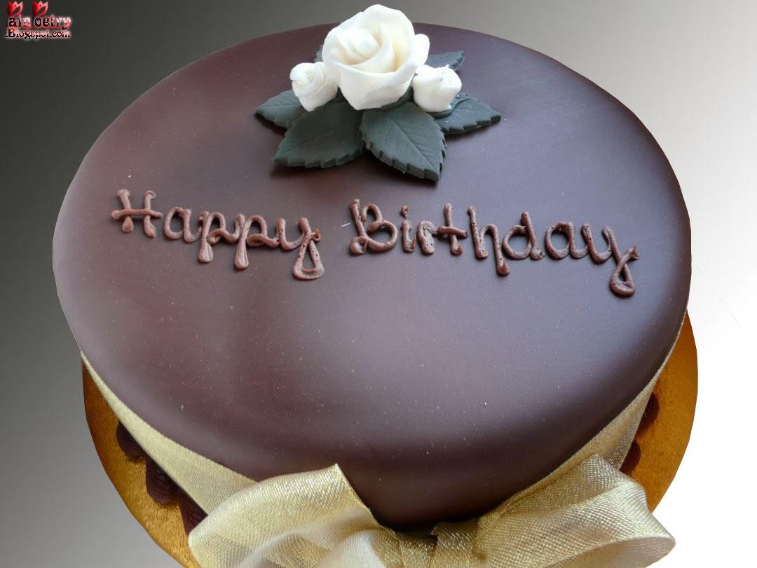 Happy-Birthday-Cream-Cake-And-Chocolate-Walpaper-Image-HD-Wide