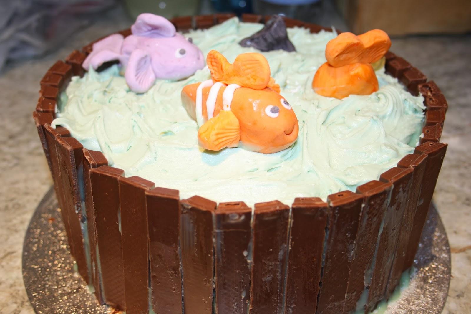fishpond cake