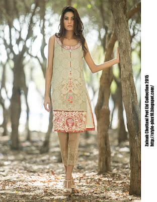embroidered-shirt-pastel-creme-zainab-chottani-eid-pret-2015