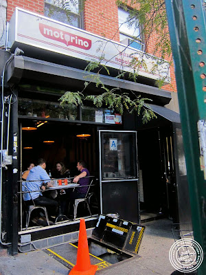 image of Motorino pizza in the East Village, NYC, New York