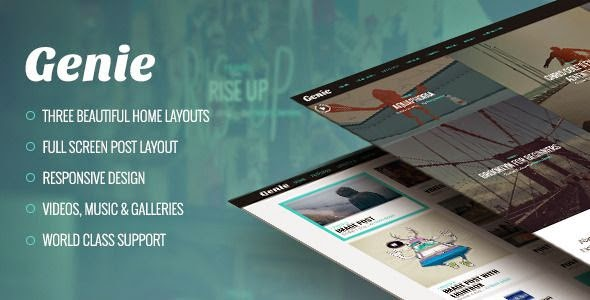 Genie WordPress Theme