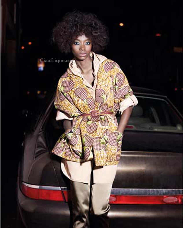 Stella Jean #africanprint #africanfashion #kitenge  more on ciaafrique.com
