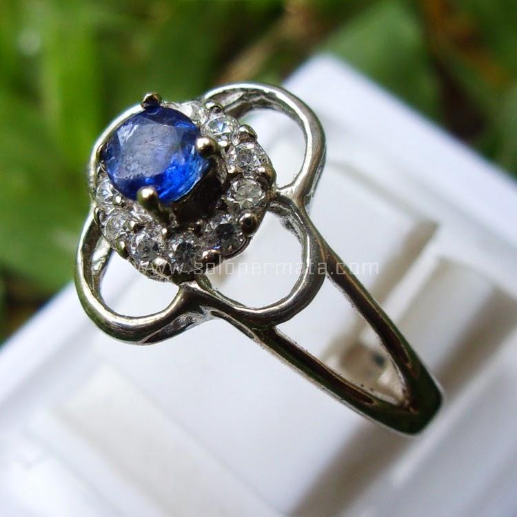 Cincin Batu Blue Sapphire Ceylon SP499