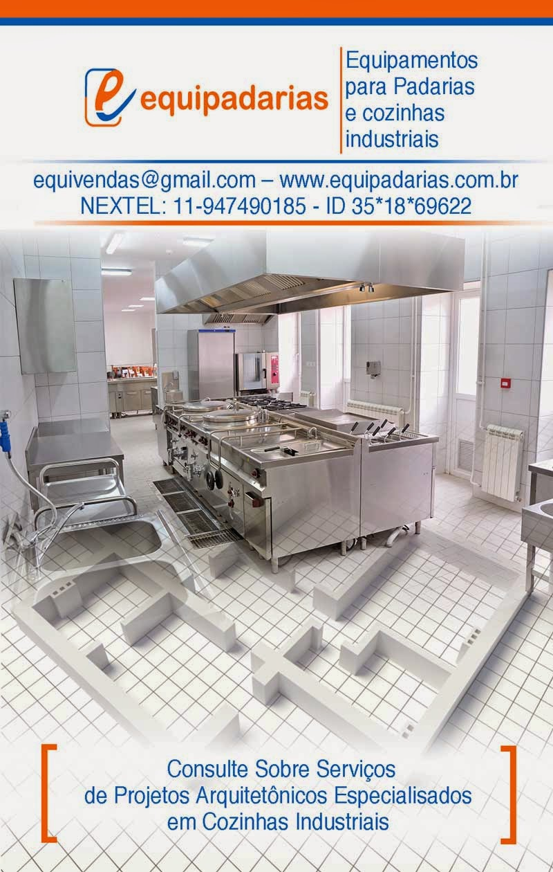 Equipamentos Padarias E Cozinhas Industriais 2014 11 16