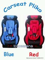 Baby Car Seat Pliko PK728 Group 0+, 1