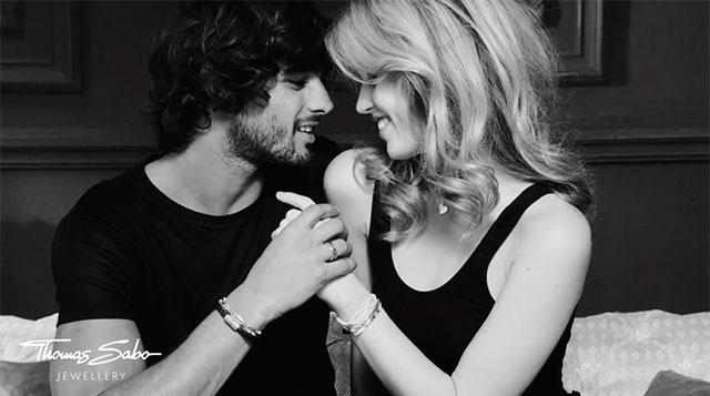 Georgia May Jagger y Marlon Teixeira