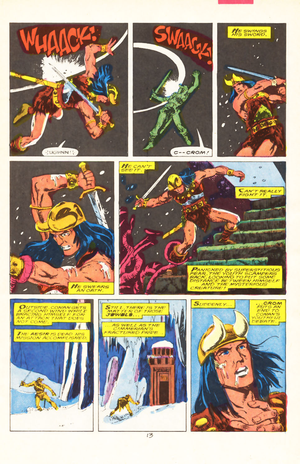 Conan the Barbarian (1970) Issue #211 #223 - English 10