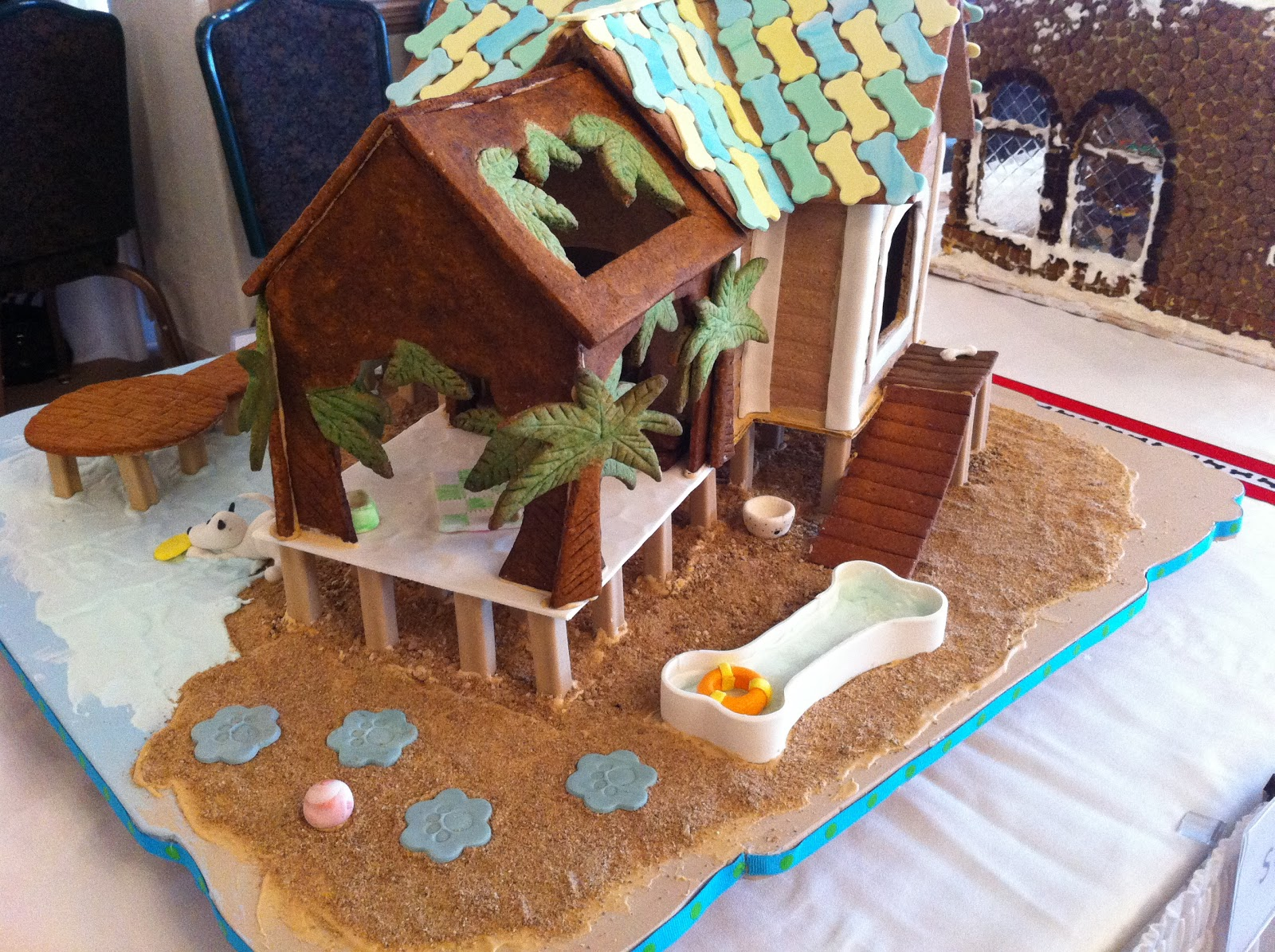 Displaying 19> Images For - Gingerbread Dog House Template...