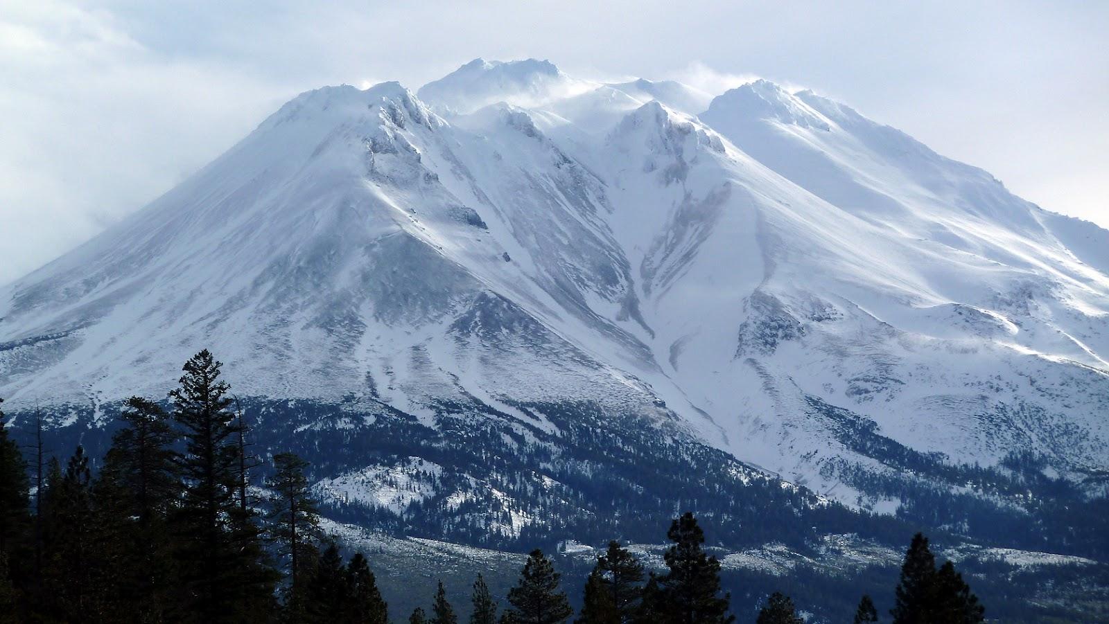 Travel trip journey mount shasta california