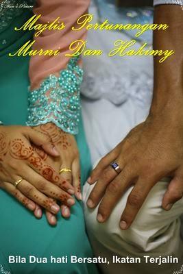 Majlis Pertunangan Murni Dan Hakimy