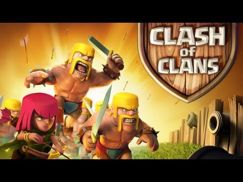 on iphone ipad and ipod touch clash of clans is a combat strategy game
