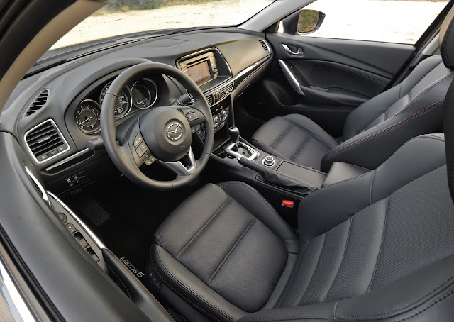 Interior view of 2014 Mazda 6