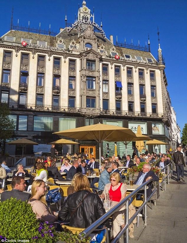 Oslo là nơi có giá bia đắt nhất thế giới