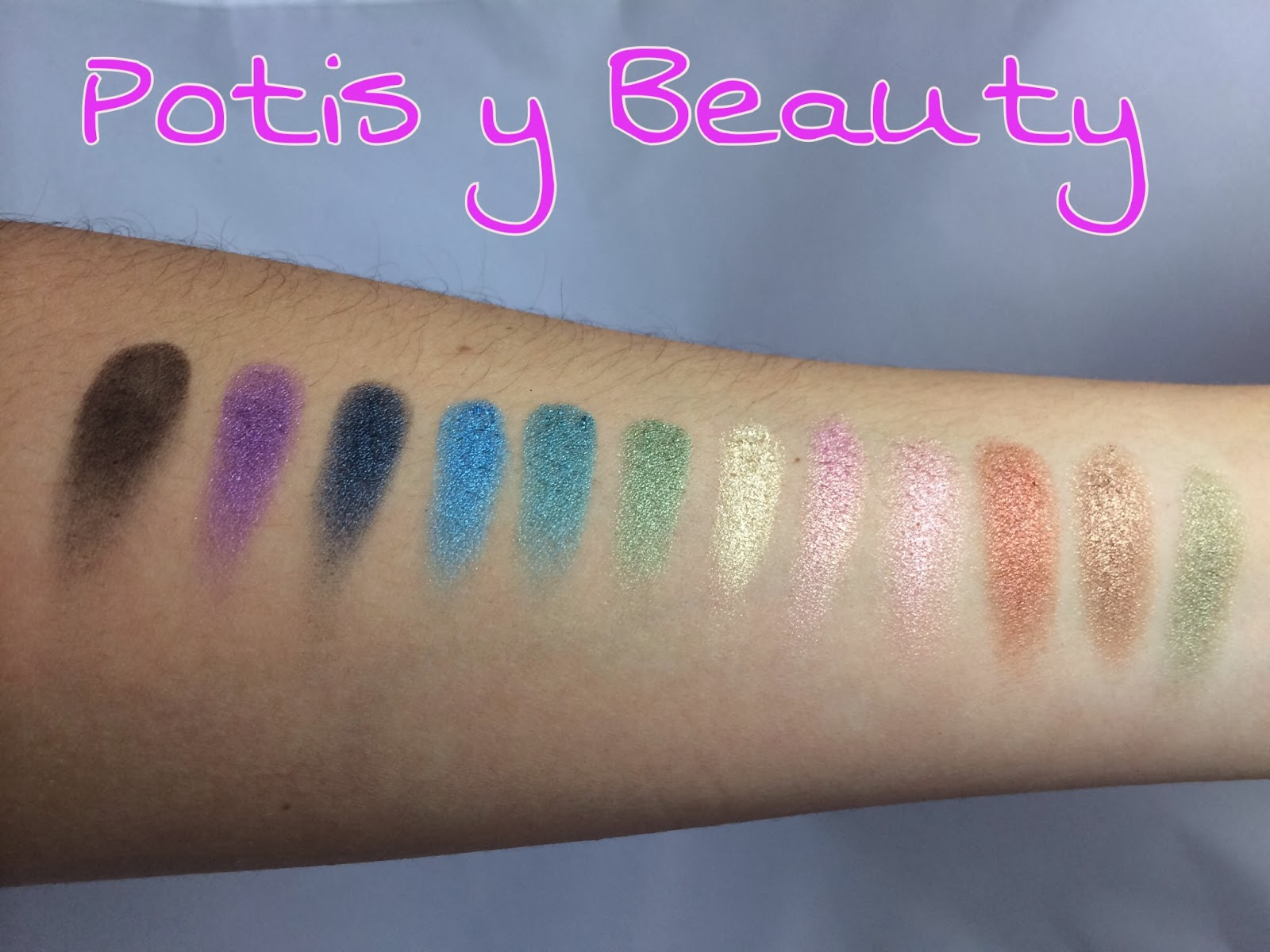 swatches paleta sleek the original