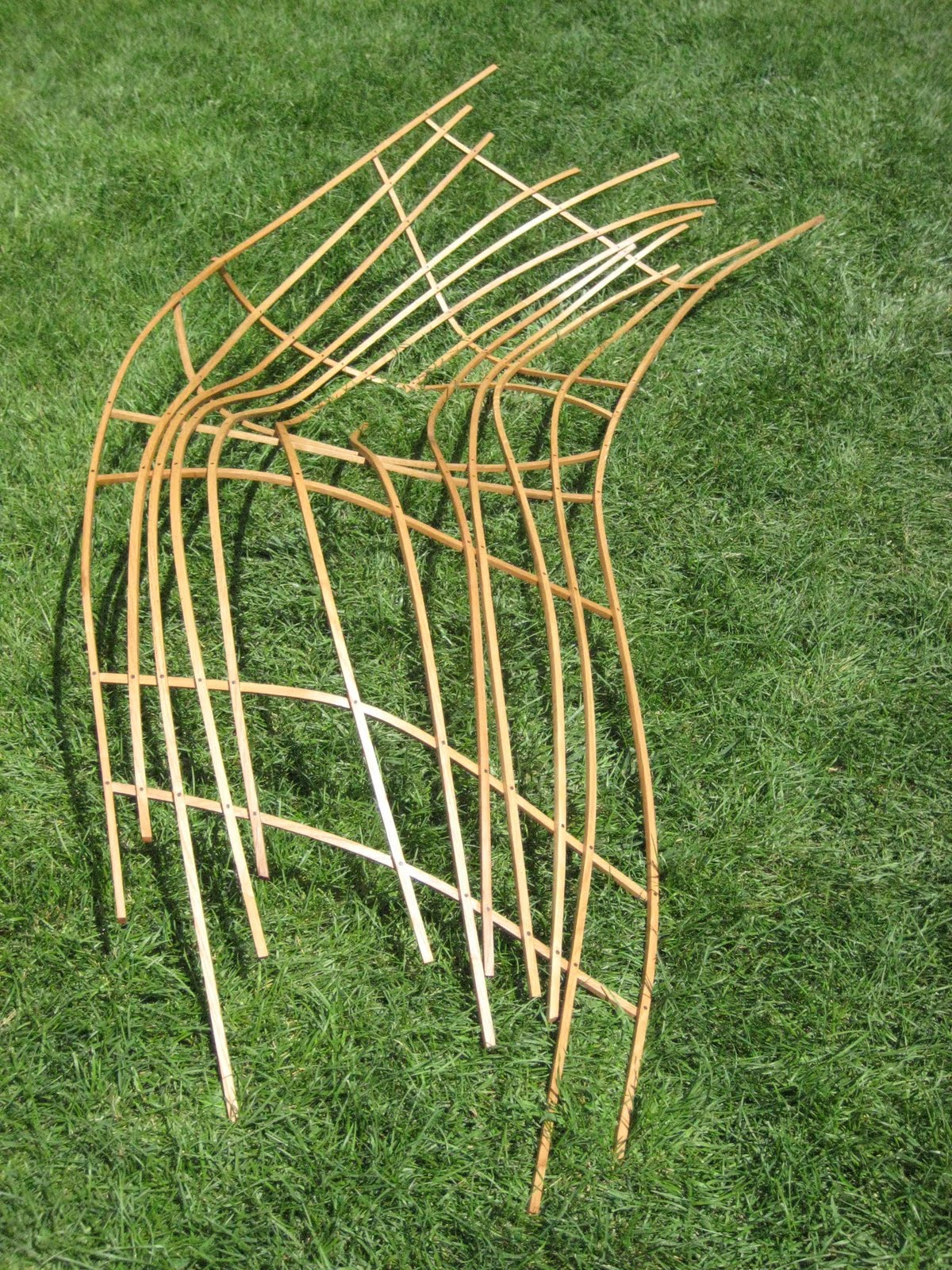 I spent two weeks in July learning how to steam bend wood at Anderson Ranch  Arts Center in Colorado  and this is one of my creations. Sebastian Parker  Sculpture and Furniture Design  STEAM BENDING IN