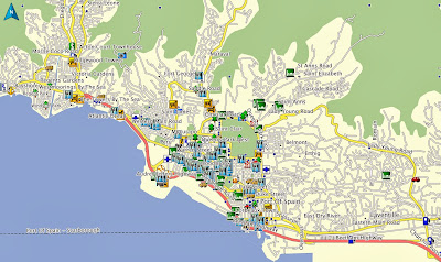 Map, GPS, Garmin, Trinidad, Tobago, POI, Hotels, Hotel, Car Rental